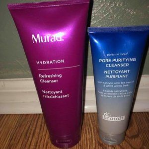 Face cleanser bundle-Murad and Dr. Brandt